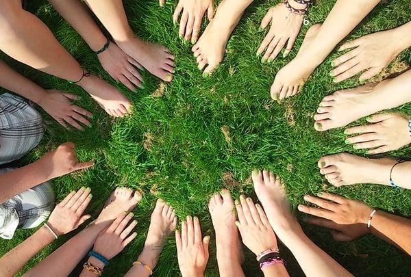 community-diversity-feet